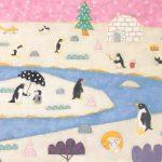 ペンギンとネコとキツネと